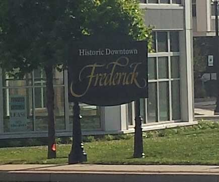Welcome to Frederick Maryland